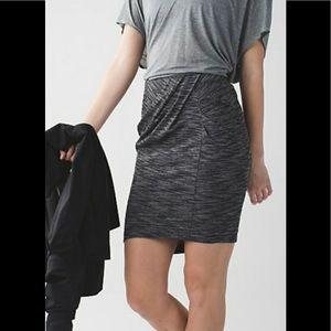 Lululemon 🍋& go where to skirt , size 6